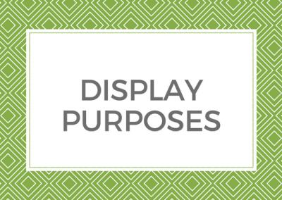 Display Purposes